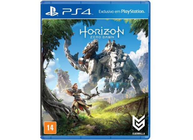 Jogo Horizon Zero Dawn PS4 Usado