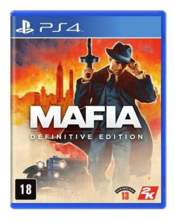 Jogo PS4 Novo Mafia Definitive Edition