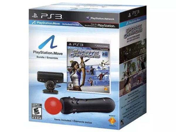 Periférico Kit PS Move + Sports Champions PS3 Usado