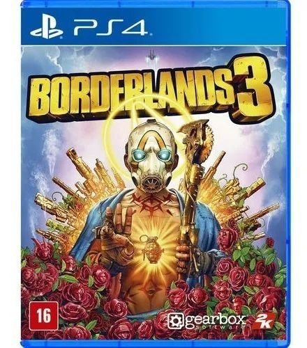 Jogo Borderlands 3 PS4 Novo