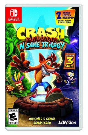 Jogo Nintendo Switch Usado Crash Bandicoot N'sane Trilogy