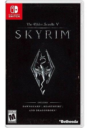 Jogo The Elder Scrolls V: Skyrim Nintendo Switch Usado