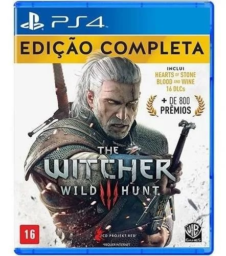 Jogo PS4 Usado The Witcher 3 Wild Hunt Complete Edition