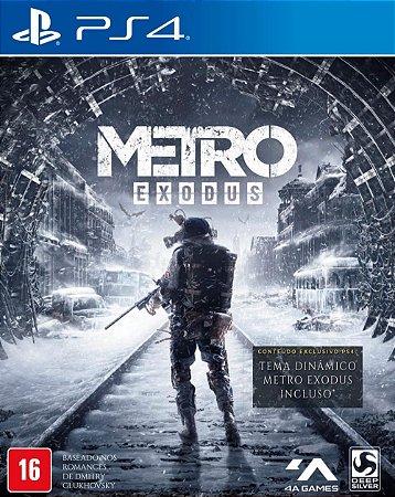 Jogo Metro Exodus PS4 Usado