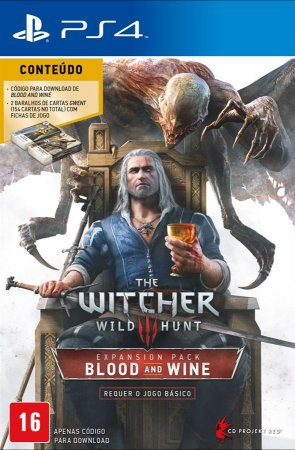 Jogo PS4 Usado The Witcher 3 Wild Hunt: Blood and Wine Expansion Pack