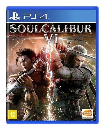 Jogo PS4 Usado Soul Calibur VI