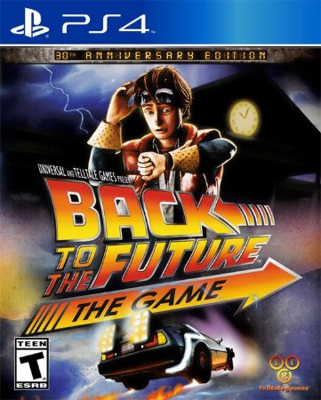 Jogo Back to the Future: The Game PS4 Usado