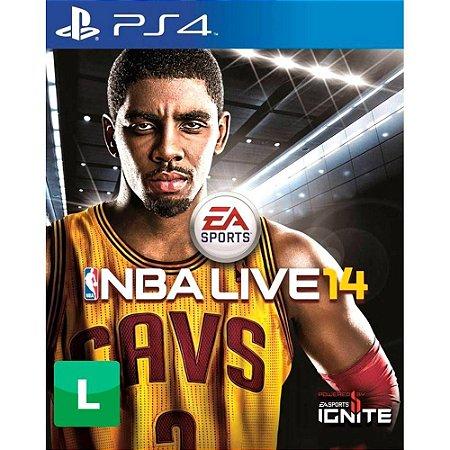 Jogo NBA Live 14 PS4 Usado