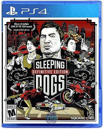 Jogo Sleeping Dogs: Definitive Edition PS4 Usado