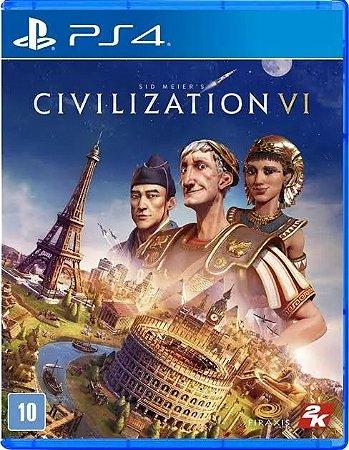 Jogo Civilization VI PS4 usado
