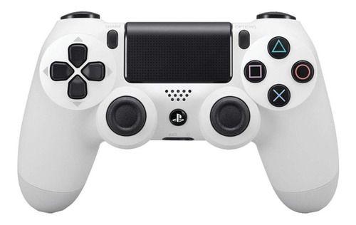 Periférico Dualshock 4 Glacier White PS4 Novo