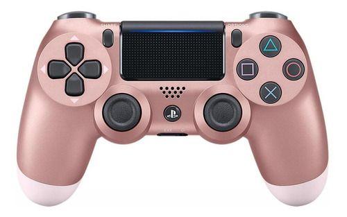 Periférico Dualshock 4 Rosé Gold PS4 Novo