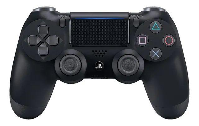 Periférico PS4 Novo Dualshock 4 Jet Black