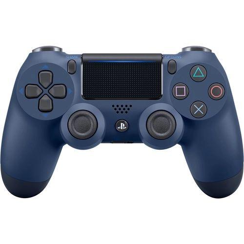 Periférico Dualshock 4 Midnight Blue PS4 Novo