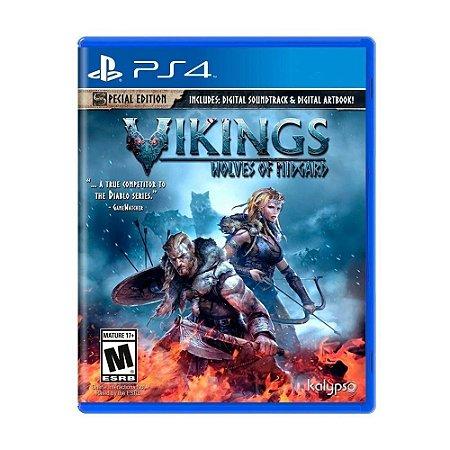 Jogo PS4 Usado Vikings: Wolves of Midgard