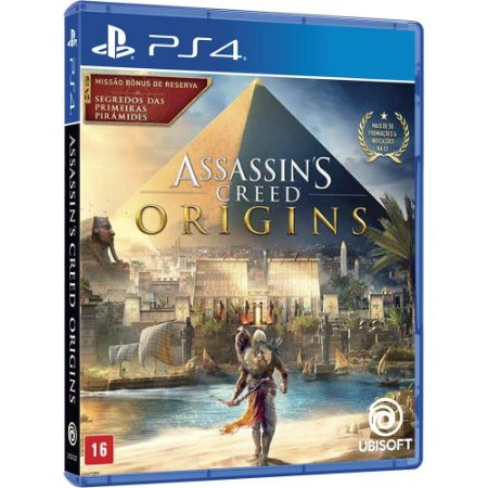 Jogo PS4 Usado Assassin's Creed Origins