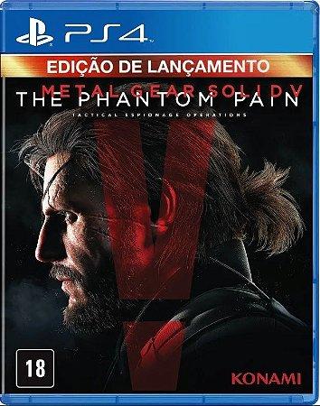 Jogo Metal Gear Solid V: The Phantom Pain PS4 Usado