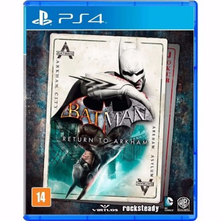 Jogo PS4 Usado Batman Return to Arkham