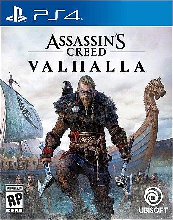 Jogo Pré Venda Assassin's Creed Valhalla PS4 Novo