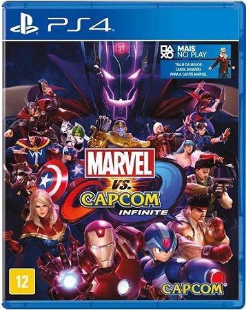 Jogo PS4 Usado Marvel vs. Capcom Infinite