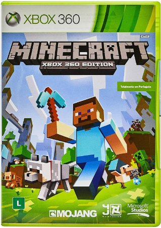 Jogo Minecraft X360 Usado