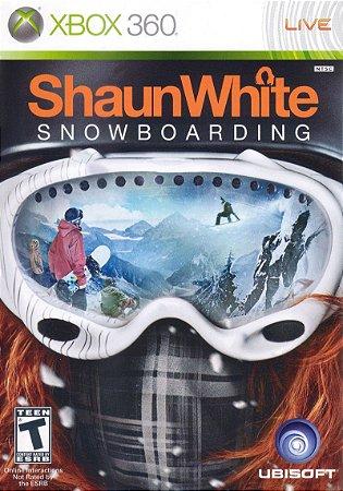 Jogo XBOX 360 Usado ShaunWhite Snowboarding