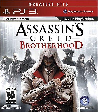 Jogo PS3 Usado Assassin's Creed  Brotherhood