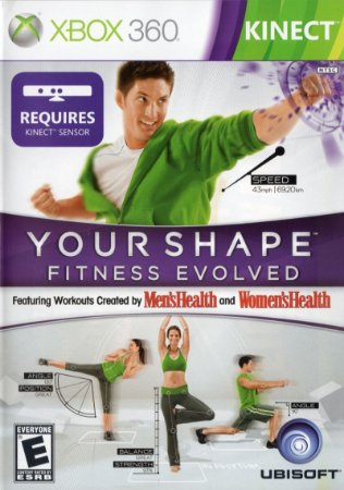Jogo XBOX 360 Usado Your Shape Fitness Evolved