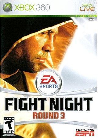 Jogo XBOX 360 Usado Fight Night Round 3