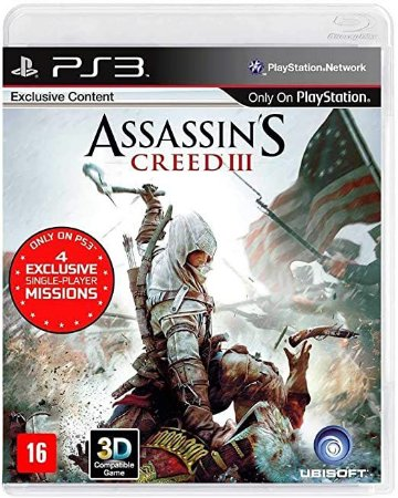 Jogo PS3 Usado Assassin's Creed III