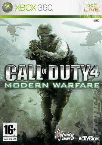 Jogo XBOX 360 Usado Call Of Duty 4 Modern Warfare