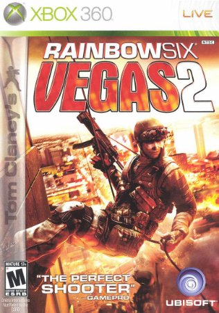 Jogo XBOX 360 Usado Rainbow Six Vegas 2