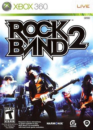 Jogo XBOX 360 Usado Rock Band 2