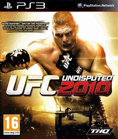 Jogo PS3 Usado UFC Undisputed 2010