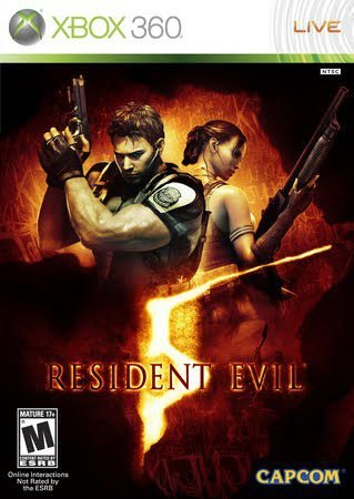 Jogo XBOX 360 Usado Resident Evil 5