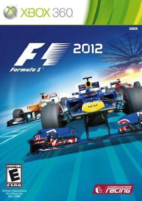 Jogo XBOX 360 Usado F1 2012