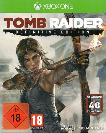 Jogo XBOX ONE Usado Tomb Raider Definitive Edition