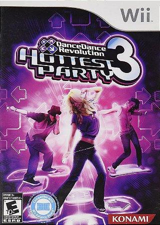 Jogo Wii Usado Dance Dance Revolution Hottest Party 3