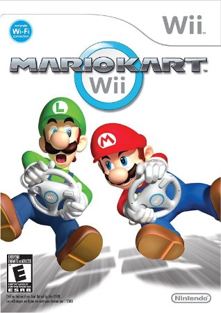 Jogo Nintendo Wii Usado Mario Kart