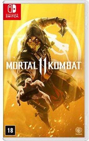Jogo Nintendo Switch Usado Mortal Kombat 11