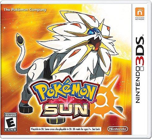 Jogo Nintendo 3DS Usado Pokémon Sun