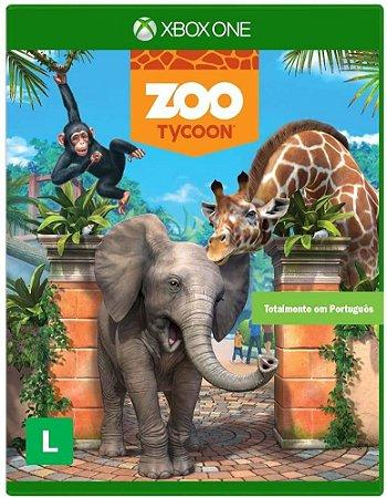 Jogo XBOX ONE Usado  Zoo Tycoon