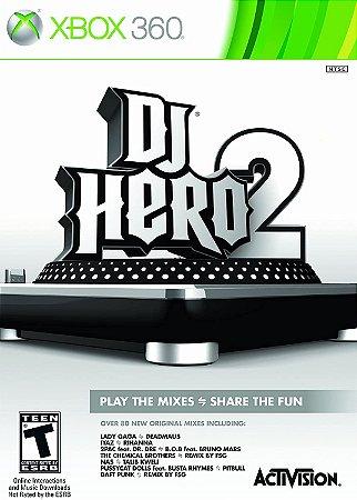 Jogo XBOX 360 Usado DJ Hero 2