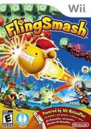 Jogo Wii Usado Fling Smash