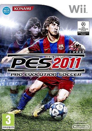 Jogo Nintendo Wii Usado PES 2011
