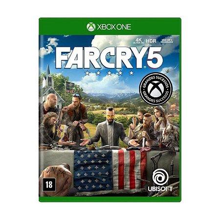Jogo Far Cry 5 Xbox One Usado