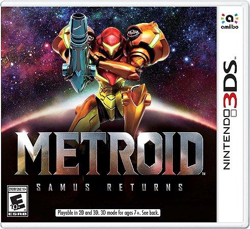 Jogo Nintendo 3DS Usado Metroid: Samus Returns