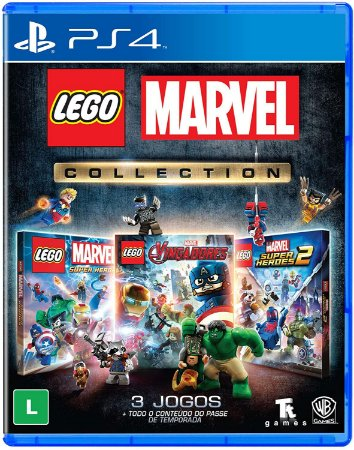 Jogo PS4 Novo LEGO Marvel Collection
