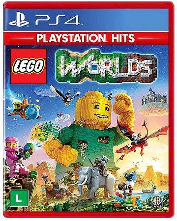 Jogo PS4 Novo LEGO Worlds