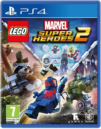 Jogo PS4 Novo LEGO Marvel Super Heroes 2
